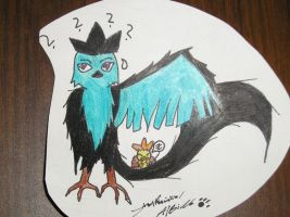 .:Articuno Evil Side:. by AlbinoTheUmbreon