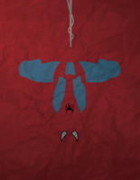 Spiderman Minimalism by AtomicKittenStudios