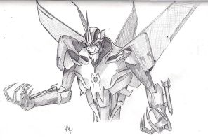 Starscream sketch by KristyBarka