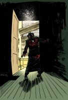 28 Days Later scene 1 colours by DeclanShalvey