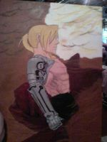 Finished Fullmetal painting by FullmetalsGirl13