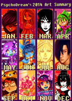 2014 Summary of Art by Terrimou