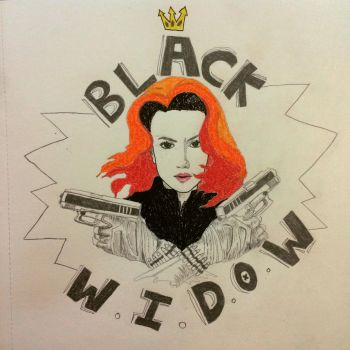 Black Widow by aladdin94