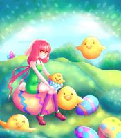 Easter must have chicks by Nezmah