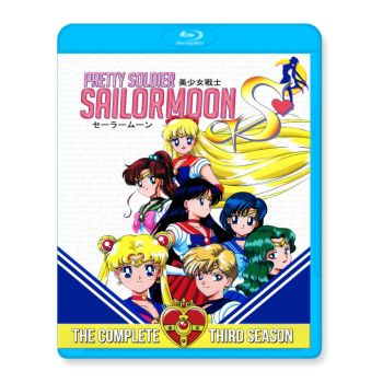 Sailor Moon S Blu-Ray Front by pethompson