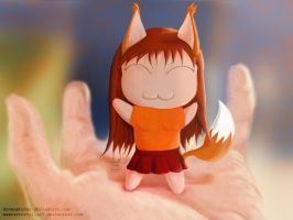 Tiny little fox by zevenstorms