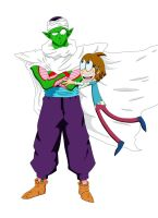 Piccolo and Wacky Jackie by ninetailz3000