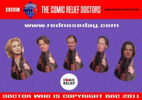 Doctor Who - Comic Relief 2 by mikedaws