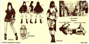 Snow concepts storyboard by hision