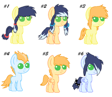MLP Shipping Adopts 1-ApplejackXSoarin .:OPEN:. by TinyWolfy