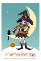 Halloween Greetings by StinaWiik