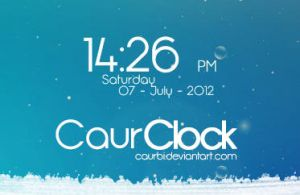 CaurClock by caurbi