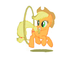 Rainmeter- Ainmated AppleJackSteamButton by videorfeak