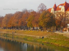 Uzhorod in Autumn by SuperGirlSwag