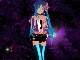 MMD Newcomer Merli + Download (taken down temp.) by SnowLillyYukino