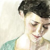 Amelie Poulain Watercolour by StefanRess