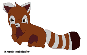 Art request for BrownEyedPandaBear by tinypanda2208