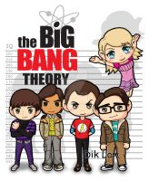 The Big Bang Theory by dIk-ThePrince