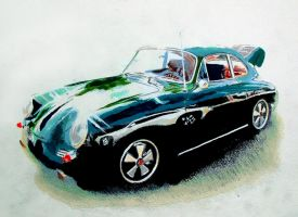 Green 356 by johnwickart