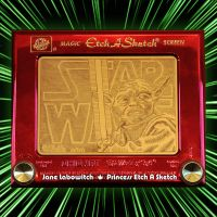 Yoda Etch A Sketch revisited by pikajane