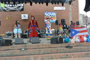 Puerto Rican/Latin Festival, The Hosts With Humor by Miss-Tbones