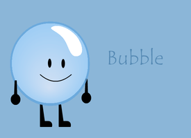 BFDI Bubble Wallpaper by MentallyInsanePlz