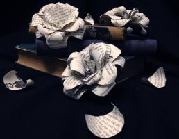 Premade Paper Rose Clips for SALE! by Roma-Roses-Ranch