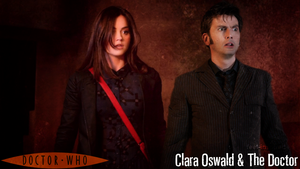 Clara Oswald and The Tenth Doctor by feel-inspired