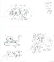 Pencil Scribbles The Art Dump Starts by Kittychan2005