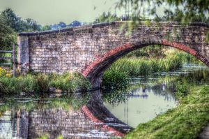 Canal bridge 12 by teslaextreme