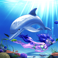 The Shallow Blue by MykeGreywolf
