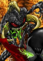 Violator vs Spawn by GRIDALIEN