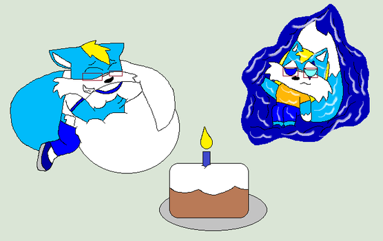 Brother Filled B-Day(vore warning) by cartoonlover307