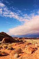 Valley of Fire Overlook by JandJPhotography