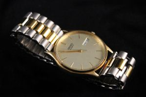Seiko Quartz Date Date Dress Watch 6533-8019 by PLutonius