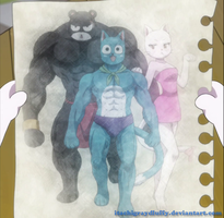 Super Team Exceed xD - assembly by ItachiGrayDLuffy