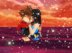 Me And Sora Kiss On Water by kari5