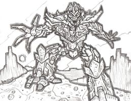 Movie Megatron by Hartter