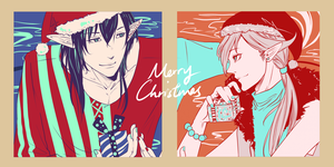 Merry Christmas to All by Kuro-Q