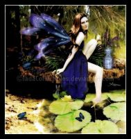 Lily Pond Fae by JadaCollectibles