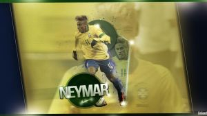 Neymar Wallpaper by FurkanCbc