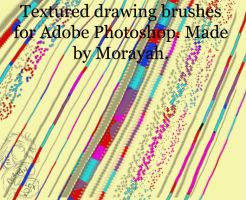 Drawing brushes by Morayah