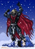Hordak Capture Frosta by Myko--