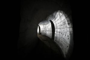 Oder Warthe Bogen.. Light in tunnel by shaaaadow