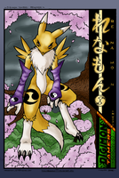 Renamon by megawolf77 -- color by Conscentia
