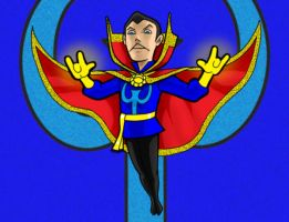 Dr. Strange Color by AlanSchell