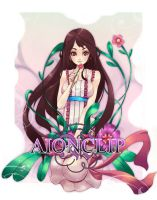 Flower by aionclip