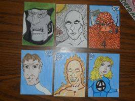 More sketch cards by kylemulsow