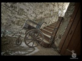 Bottom of the stairs by pewter2k