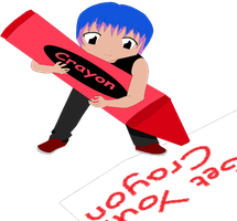 G-Dragon Get Your Crayon by GD-Lolli